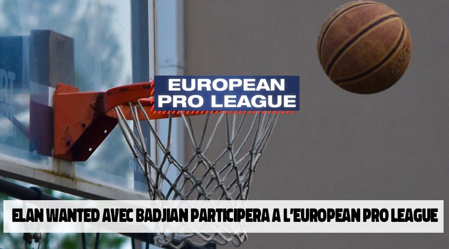 Elan WanteD avec Badjian participera a l'european Pro League NBA 2k