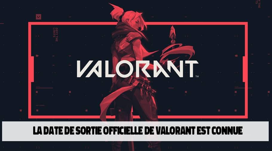 Fin de la beta fermée et date de sortie officielle pour Valorant