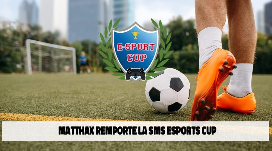 Le joueur du Sporting Club de Charleroi Matthax remporte la SMS Esports cup