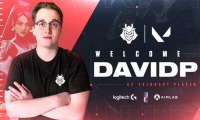 DavidP rejoint G2 Esports sur Valorant