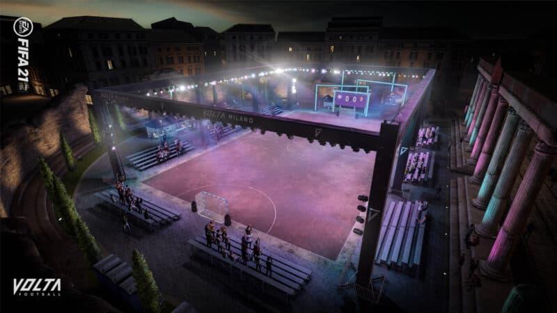 Mode Volta - Stade de Milan - FIFA 21