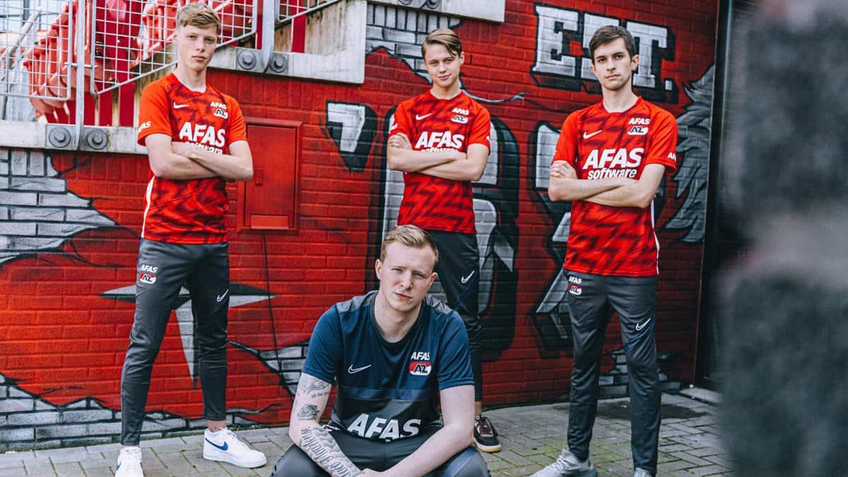 Association KRC Genk AZ Alkmaar dans l esport