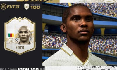 EA Sports - FIFA21 - Etoo - Icon Legend