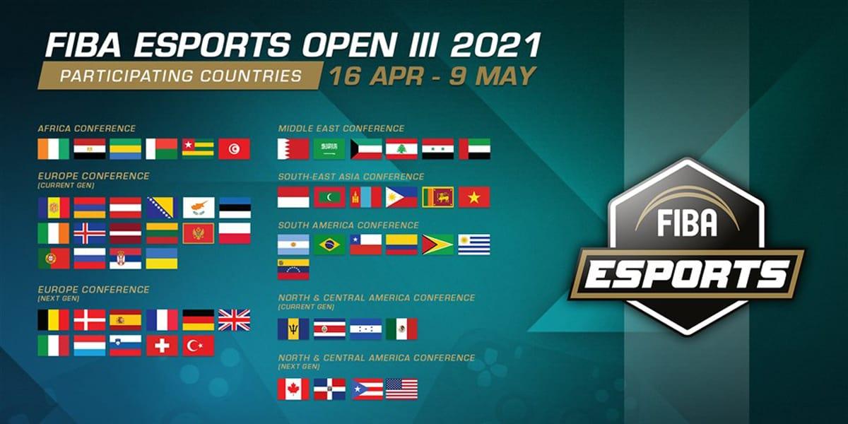 FIBA Esports Open - la Belgique sera présente !