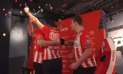 Le PSV Eindhoven remporte la eDivisie