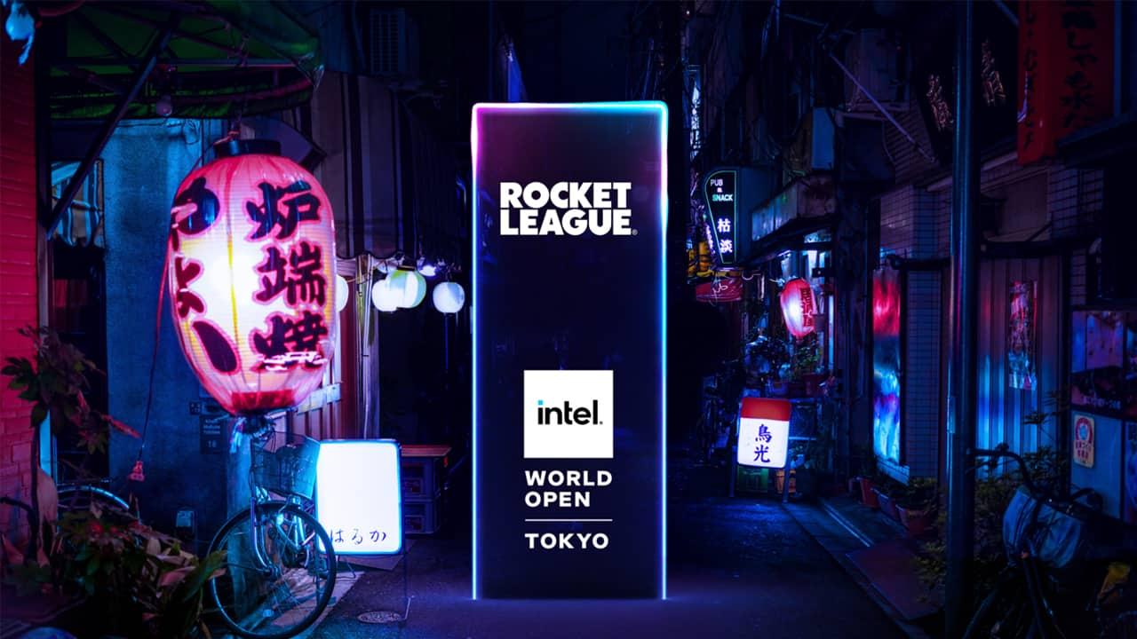 Intel World Open Rocket League - Jeux olympiques Tokyo 2021