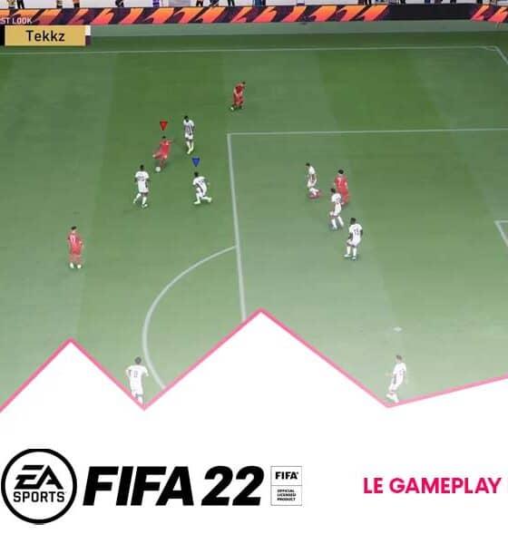 Gameplay FUT sur la beta FIFA 22